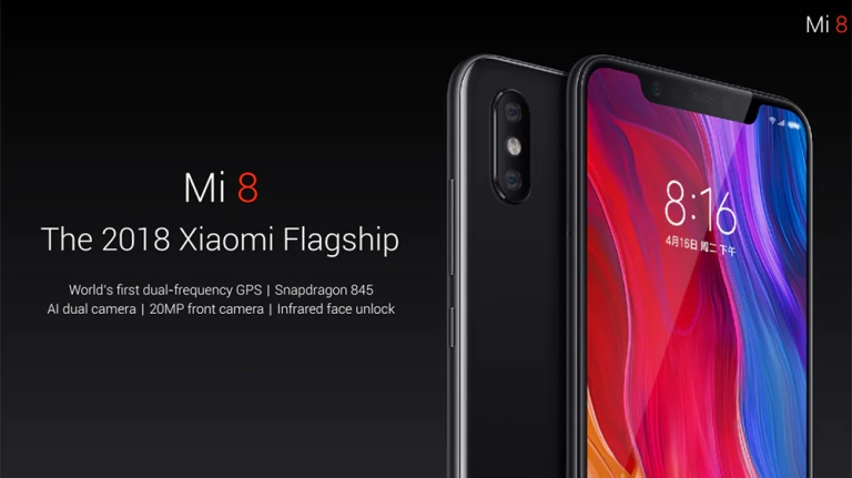 Xiaomi Mi 8 4G Phablet Global Version 1