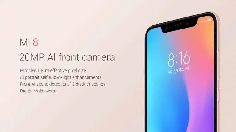 Xiaomi Mi 8 4G Phablet Global Version 13