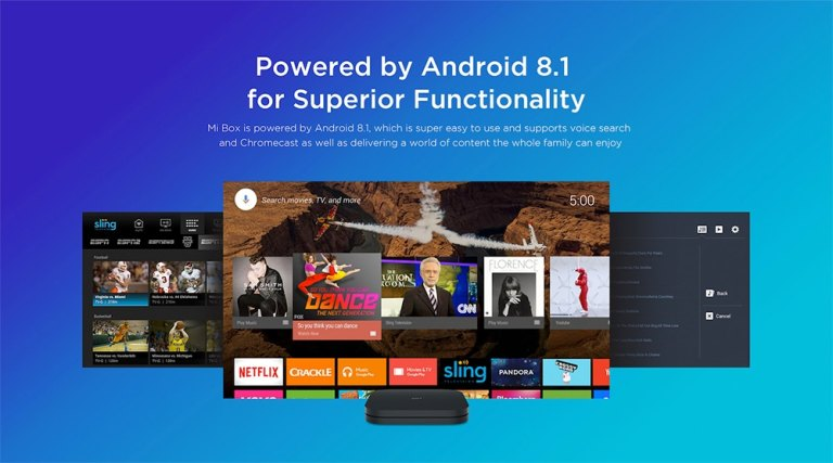 Xiaomi Mi Box S with 4K HDR Android2