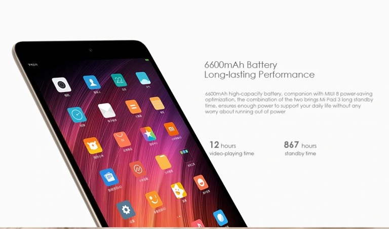 Xiaomi Mi Pad 3 Tablet PC2