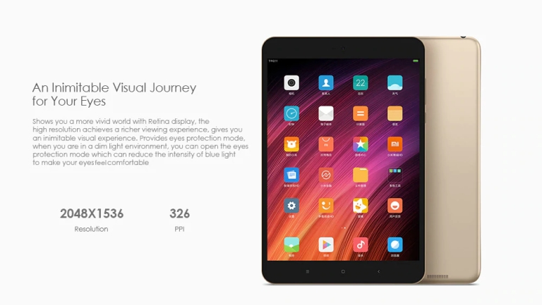Xiaomi Mi Pad 3 Tablet PC6