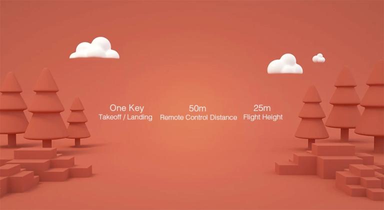 Xiaomi MITU WiFi FPV 720P HD Camera Mini RC Drone1
