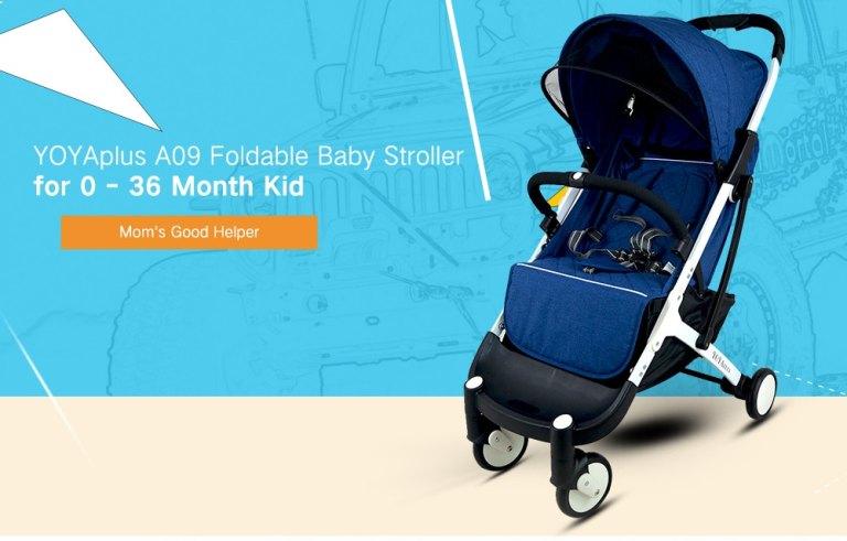 YOYAplus A09 Foldable Baby Stroller
