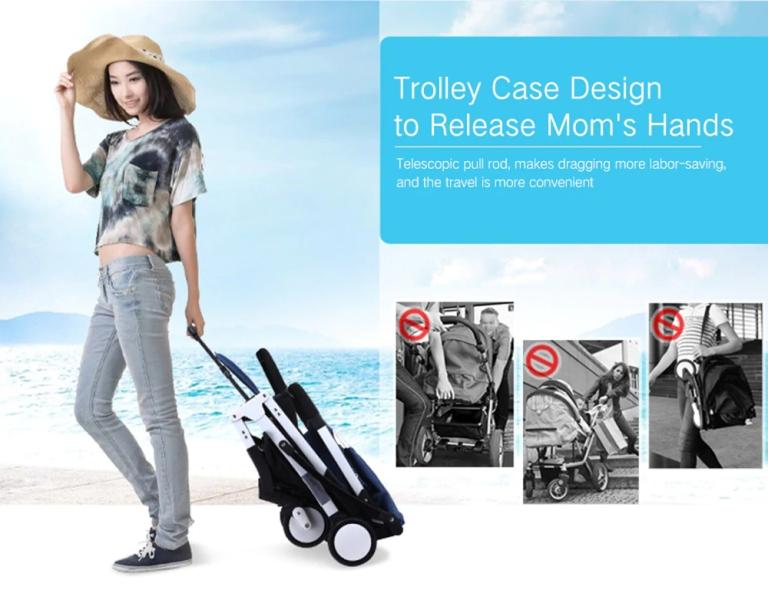 YOYAplus A09 Foldable Baby Stroller3