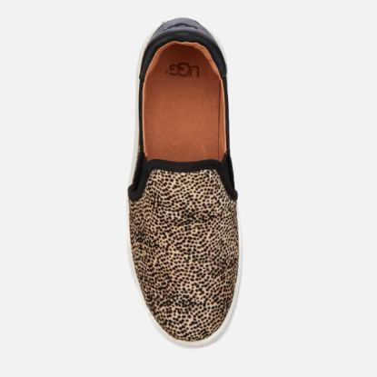UGG Women's Cas Exotic Calf Hair Slip-On Trainers2
