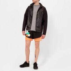 adidas by kolor Men's Fabric Mix Jacket - Black2
