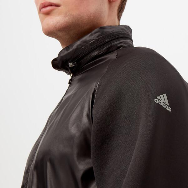 adidas by kolor Men's Fabric Mix Jacket - Black3