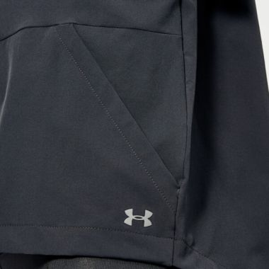Under Armour Women's Unstoppable Woven Full Zip Jacket - Black4