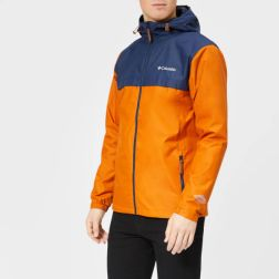 columbia men's jones ridge jacket - bright copper