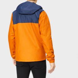 columbia men's jones ridge jacket - bright copper1
