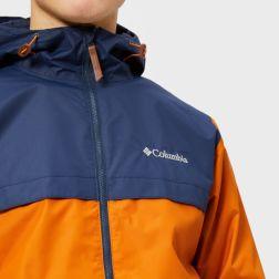 columbia men's jones ridge jacket - bright copper4