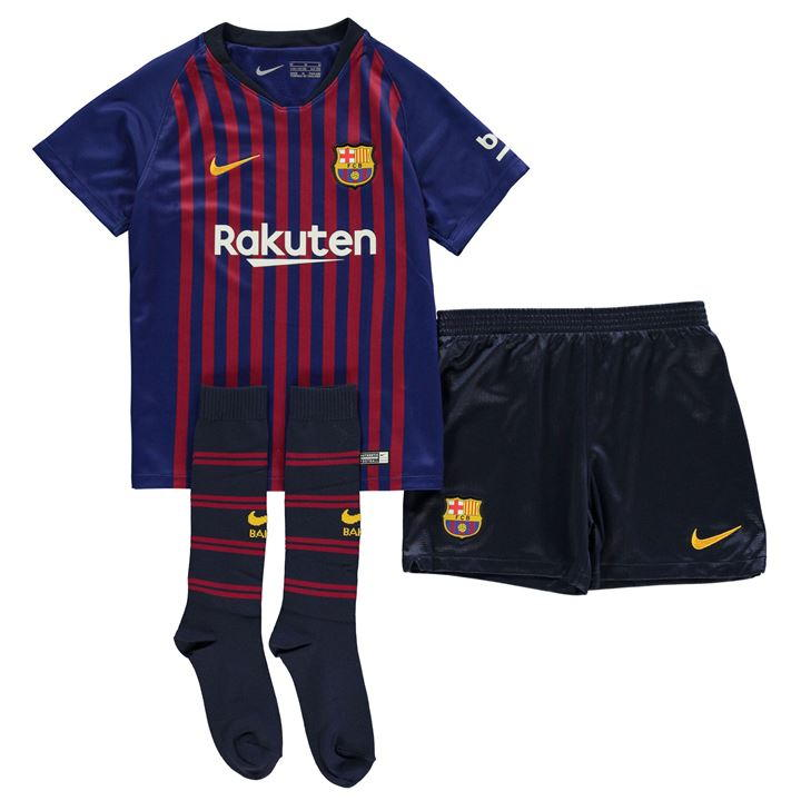 Nike Barcelona Home Mini Kit 2018 2019