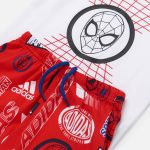 adidas Boys' Infant Dy Spider-Man T-Shirt and Short Set 3