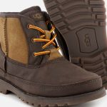 UGG Kid's Bradley Water Resistant Lace-Up Boots - Stout 3